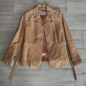 Genuine Suede Jacket